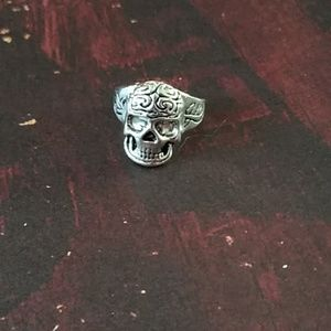 Other - Gothic Punk Brainiac Skull 💀 Biker's Ring